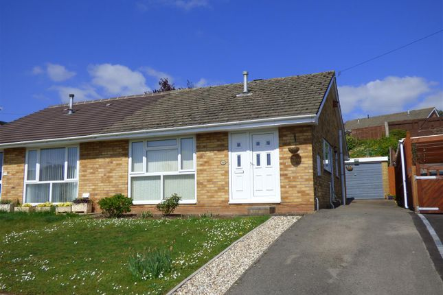 Thumbnail Semi-detached bungalow for sale in Wyebank Way, Tutshill, Chepstow