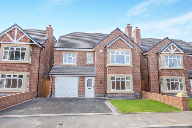Thumbnail Detached house for sale in Stokes Gardens, Newbridge, Wolverhampton