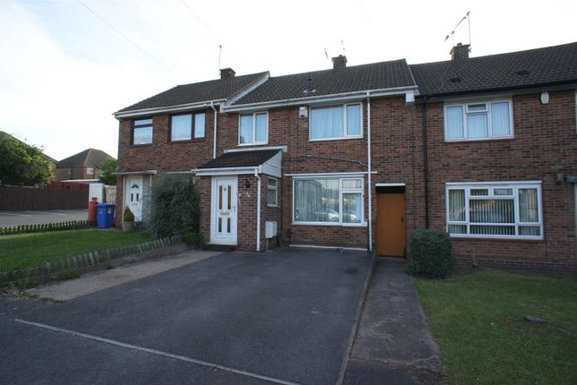 Thumbnail Town house to rent in Cavan Drive, Chaddesden, Derby