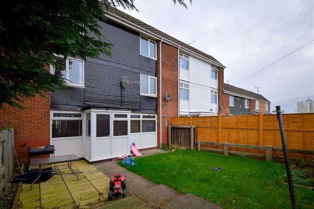 Rear Elevation of Pitsford Close, Bransholme, Hull HU7