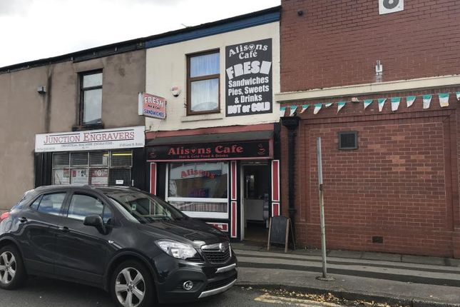 Thumbnail Restaurant/cafe to let in Cafe, Alisons Cafe, 91, Lever Street, Bolton