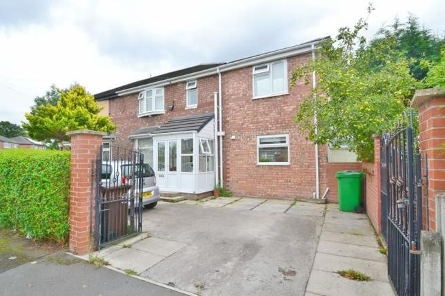 Thumbnail Semi-detached house to rent in Overlea Drive, Burnage, Manchester