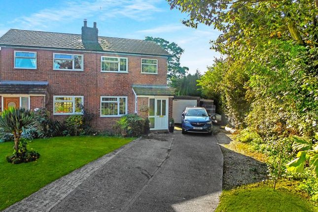 Thumbnail Semi-detached house for sale in Church View, Audlem, Cheshire