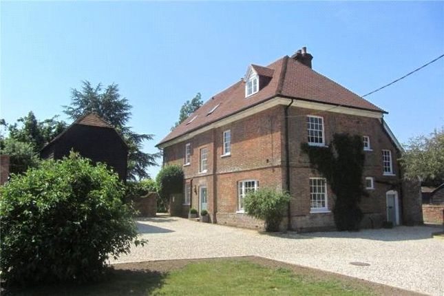 Thumbnail Detached house to rent in Herriard, Basingstoke, Hampshire