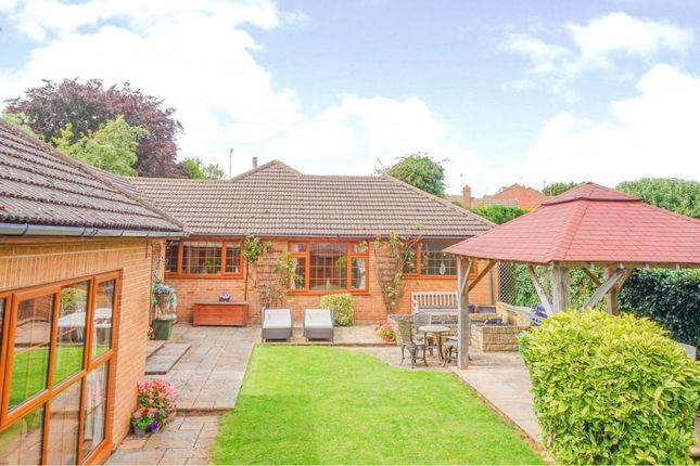 Thumbnail Detached bungalow for sale in Rushton Road, Desborough, Kettering