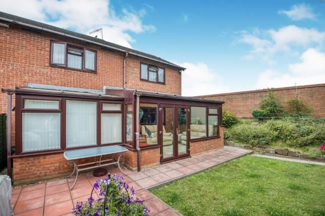 Thumbnail End terrace house for sale in St. Philips Drive, Evesham, Worcestershire