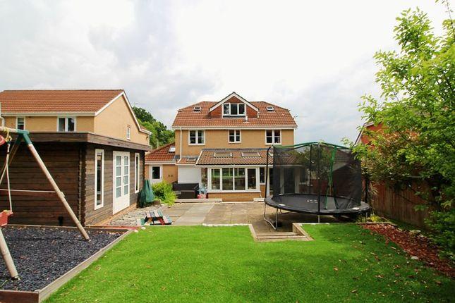 Thumbnail Detached house for sale in Ty Crwyn, Church Village, Pontypridd