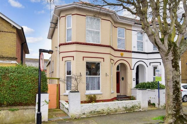 Thumbnail Semi-detached house for sale in St. Johns Road, Sandown, Isle Of Wight