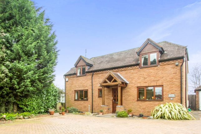 Thumbnail Detached house for sale in Needlers End Lane, Balsall Common, Coventry