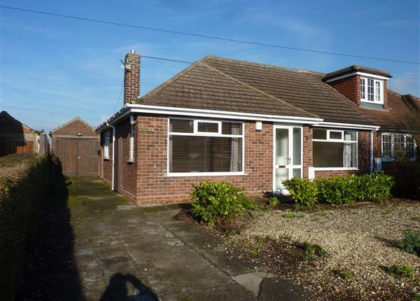 Thumbnail Semi-detached bungalow for sale in Fairway, Waltham, Grimsby