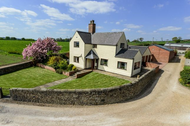 Thumbnail Detached house for sale in Rectory Lane, Breadsall, Derby