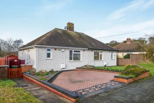 Thumbnail Bungalow for sale in Garrick Road, Cannock, Staffordshire, Staffs