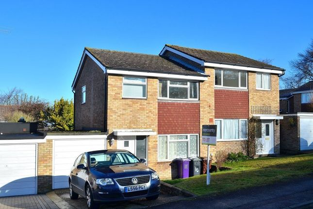 Thumbnail Detached house to rent in Brampton Road, Royston, Herts