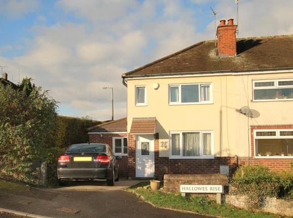 Thumbnail Semi-detached house for sale in Hallowes Rise, Dronfield, Derbyshire
