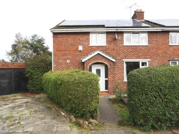 Thumbnail Semi-detached house for sale in Manor Road, Cuddington, Northwich, Cheshire