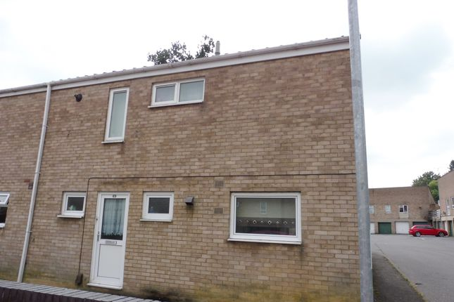 Thumbnail End terrace house for sale in Epsom Walk, Corby