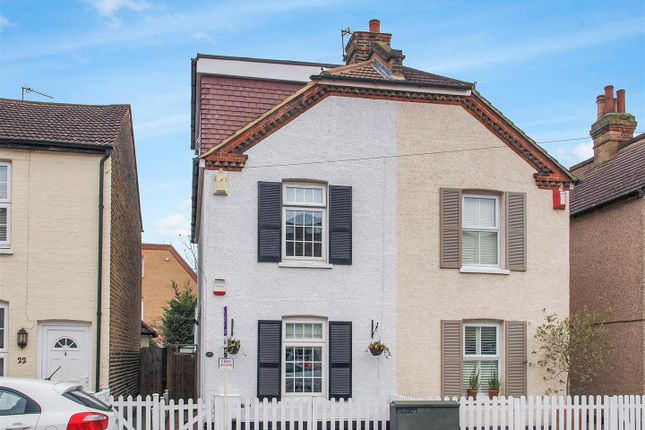 Thumbnail Semi-detached house for sale in Recreation Road, Shortlands, Bromley