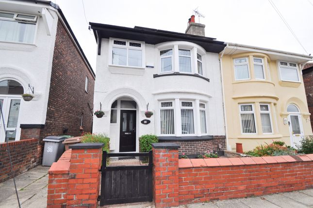 Thumbnail Semi-detached house for sale in Dawlish Road, Wallasey