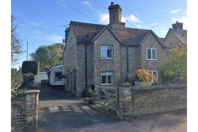 Thumbnail Semi-detached house for sale in High Street, Silsoe, Bedford
