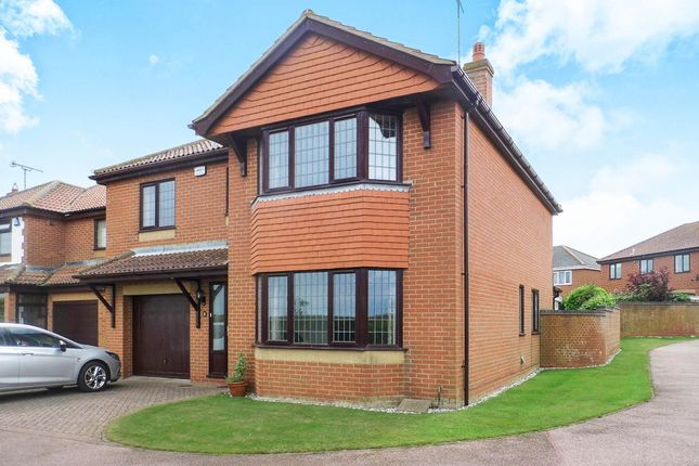 Thumbnail Detached house for sale in Tasman Drive, Mundesley, Norwich