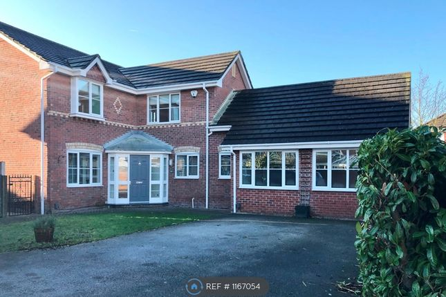 Thumbnail Detached house to rent in Mills Way, Leighton, Crewe