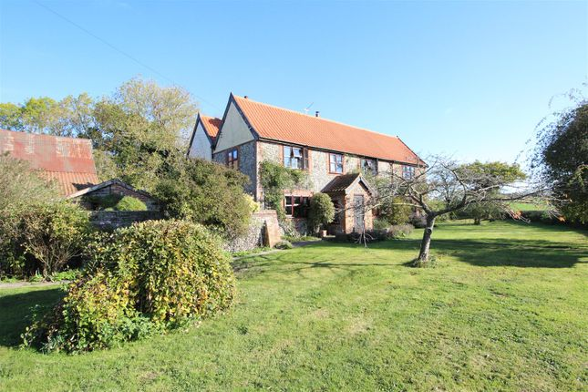 Thumbnail Detached house for sale in Creeting St. Peter, Ipswich