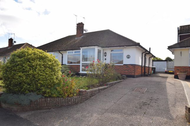 Thumbnail Semi-detached bungalow for sale in Gorringe Valley Road, Willingdon, Eastbourne