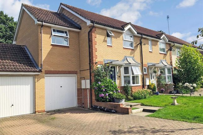 End terrace house for sale in Goldfinch Close, Horsham, West Sussex