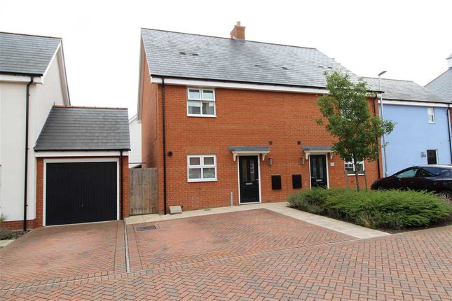 Thumbnail Semi-detached house for sale in Peache Road, Colchester