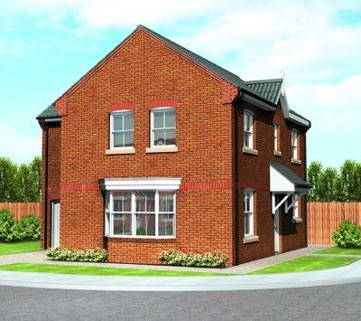"Thumbnail Detached house for sale in ""The Escrick"" at Scarborough Road, Norton, Malton"
