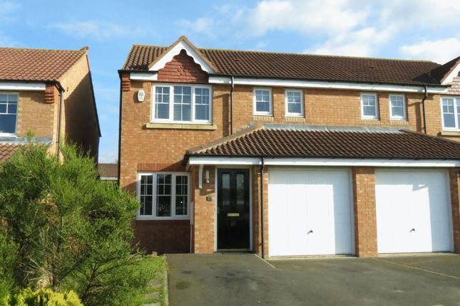 Thumbnail Semi-detached house for sale in Ellerby Mews, Thornley, County Durham