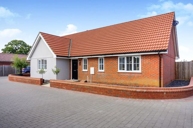 Thumbnail Detached bungalow for sale in Keeble Road, Brantham, Manningtree