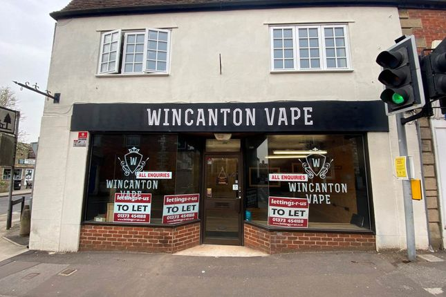 Thumbnail Commercial property to let in High Street, Wincanton, Somerset