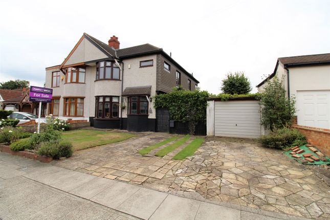 Thumbnail Semi-detached house for sale in Montrose Close, Welling