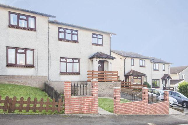 Thumbnail Semi-detached house to rent in Cader Idris Close, Risca, Newport