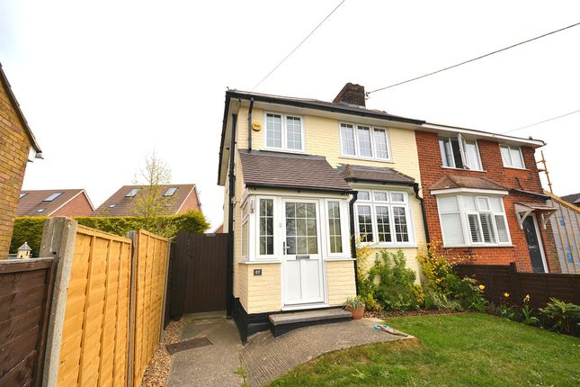 Thumbnail Semi-detached house for sale in Notley Road, Braintree