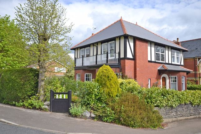 Thumbnail Detached house for sale in Exceptional Period House, Fields Park Road, Newport