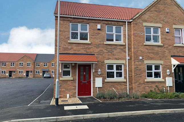 Thumbnail End terrace house for sale in Lerowe Road, Wisbech