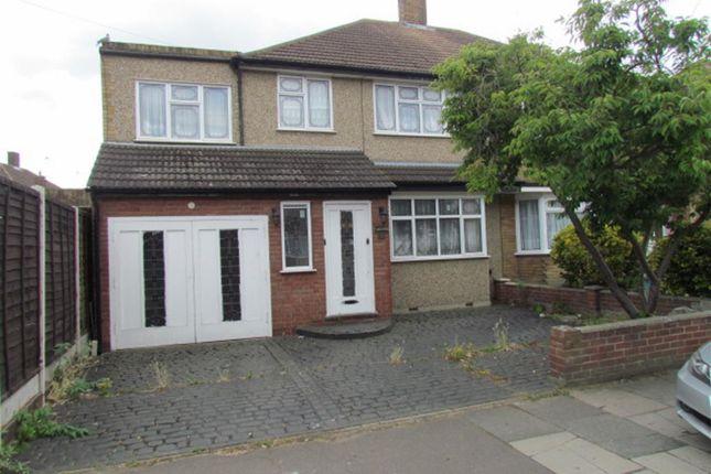 Thumbnail Semi-detached house for sale in Tendring Way, Chadwell Heath, Romford