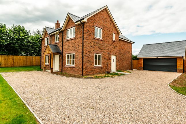 Thumbnail Detached house for sale in Plot 1, The Beeches, Shrewsbury Road, Hadnall, Shrewsbury