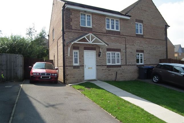 Thumbnail Semi-detached house to rent in Abinger Close, Bradford