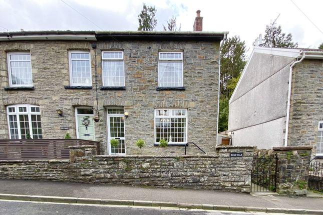 Thumbnail Semi-detached house for sale in Llanwonno Road, Cwmaman, Aberdare, Mid Glamorgan