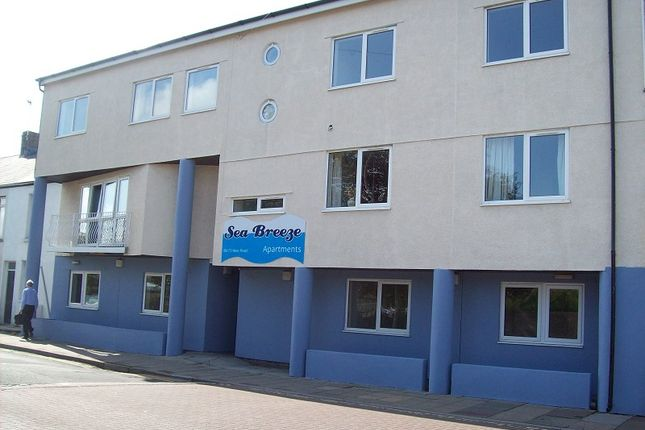 Thumbnail Flat to rent in Seabreeze Apartments, New Road, Porthcawl, Bridgend.