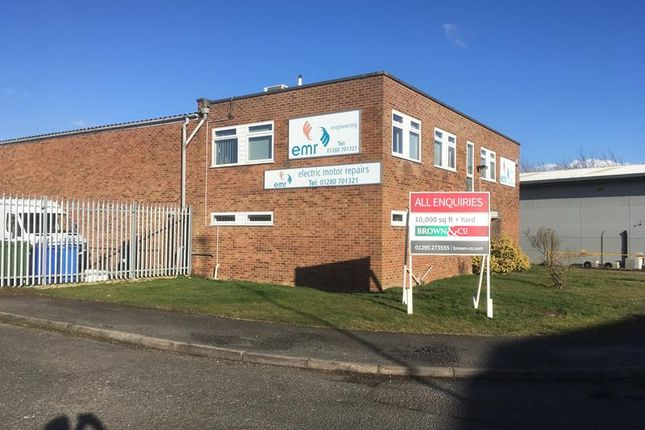 Thumbnail Light industrial for sale in Unit 16, County Road, Brackley, Northamptonshire