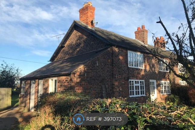 Thumbnail Semi-detached house to rent in Burnthouse Cottage, Mere, Knutsford