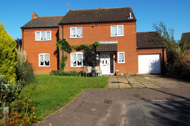 Thumbnail Detached house for sale in Brancaster Way, Swaffham