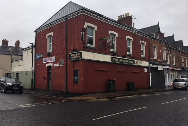 Thumbnail Office for sale in West End Social Club, 70-72 Murray Street, Hartlepool