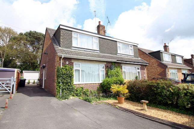 Thumbnail Semi-detached house for sale in Allens Road, Upton, Poole
