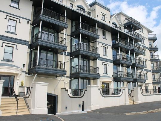 Thumbnail Flat to rent in Apt. 22 Kensington Place Apartments, Imperial Terrace, Onchan
