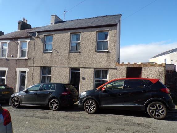 Thumbnail End terrace house for sale in Beulah Square, Caernarfon